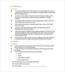 How To Write A Birth Plan Examples 12 Birth Plan Templates Free Sample Example Format