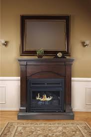 pleasant hearth convertible 35 inch vent free dual fuel fireplace