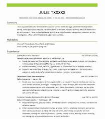 Job Specific Resumes Quality Assurance Specialist Resume Sample Livecareer