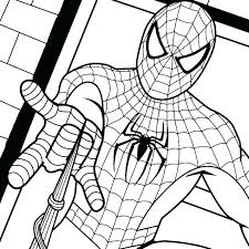 Marvel Ultimate Spiderman Coloring Pages Freesubmitdir Info
