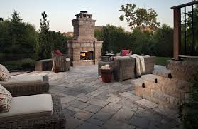 outdoor fireplace paver patio: outdoor fireplace how much do paving stones cost x