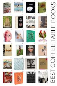 24 great coffee table books elements