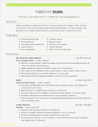 Project Manager Resume Skills Beautiful Manager Resume