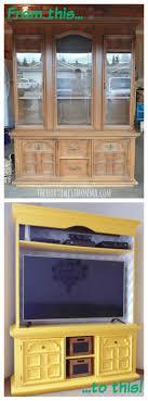furniture repurposed. diy repurposed china hutch furniture
