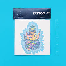 Tattoo Acid Ganesha