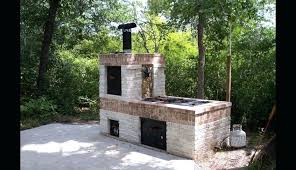 backyard fireplace plans simple brick kits grill ideas patio and backyard fireplace winsome designs smoker parts