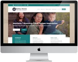 Wyoming Website Design Montana Wyoming Tribal Judges Association Web Design