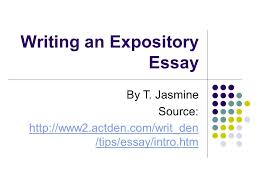 writing an expository essay ppt writing an expository essay