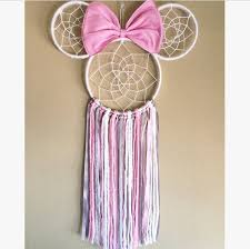 Minnie Mouse Dream Catcher Awesome Minnie Mouse Dreamcatcher Minnie Mouse Dream Catcher Disney Etsy