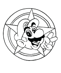 Super Mario Galaxy Coloring Pages Spiny Coloring Page Free Super