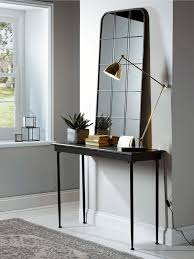 hallway console table. Furniture: Narrow Console Table For Hallway Lv Condo Intended Prepare From A