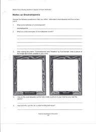 Middle School Language Arts Worksheets Worksheets