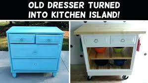 impressive dresser kitchen island kitchen island made out of dresser kitchen island made from dresser kitchen