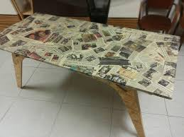 table recycled materials. Memories Table Made With Recycled Materials E
