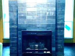 fireplace slate tile surround black how to clean f slate fireplace surround amazing ideas tile best how black