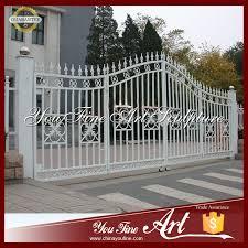 paint wrought iron villa gate design iron villa gate design wrought iron villa gate paint iron villa gate design on alibaba com