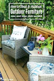 cleaning patio cushions outdoor with vinegar oxiclean furniture
