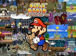 wide hdq paper mario wallpapers paper mario wallpapers 41 nm