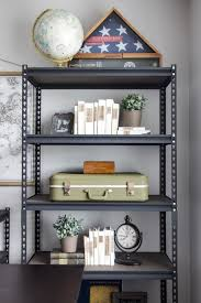 Cheap office shelving Alibaba How To Style Industrial Shelves On The Cheap Blesser House For Remodelaholic Viendoraglasscom Remodelaholic How To Style Industrial Shelves On The Cheap