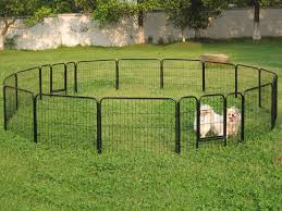 backyard portable dog fences