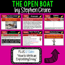 open boat by stephen crane textual evidence analysis expository  the open boat by stephen crane textual evidence analysis expository writing