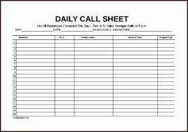 Excel Design Templates Excel Mission Template Sales Calls Call