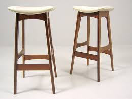 Small Picture Kitchen Mid Century Modern Daw Style Bar Stool With Arms White For