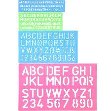 Stencil Letters Stencil Letters Amazon Co Uk