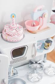 kidkraft culinary wooden play kitchen pink pastel awesome kidkraft vintage kitchen pastel mixer melissa
