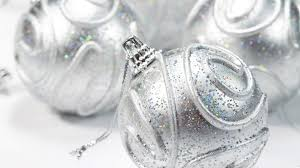 silver holiday wallpaper. Delighful Wallpaper Beautiful Nice Silver Christmas Balls For Decoration On 2013 Holiday  Festivals Photo Intended Wallpaper I