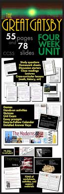 best images about the great gatsby flappers great gatsby unit plan four full weeks of dynamic lessons