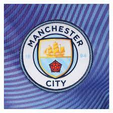Puma Manchester City Aufwärmtrikot League Stadium violett/hellblau -  Fussball Shop