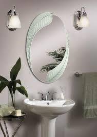 Creative of 18 Bathroom Mirror Best 25 Oval Bathroom Mirror Ideas On  Pinterest Half Bath