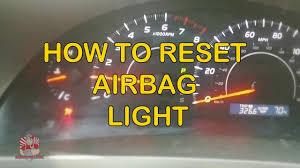 2011 Kia Sorento Airbag Light Reset