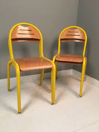 yellow metal chairs lovely children s french yellow metal legged stackable chairs