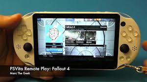 PSVita Remote Play Fallout 4
