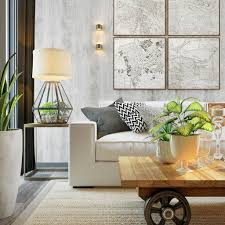 Home Designs: Artsy Living Room - Concrete Interior