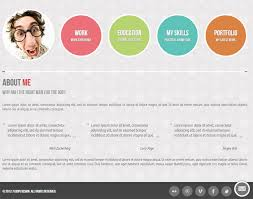 Online Resume Portfolio 30 Best Resume Cv Html Templates For Personal Business