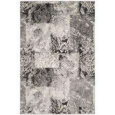 safavieh retro paseo cream gray indoor distressed area rug common 4 x 6