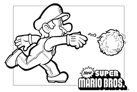 Mario On Motorcycleoring Pages For Kids Printable Free Super Online