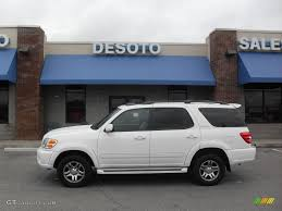 2003 Natural White Toyota Sequoia Limited 4WD #20362361   GTCarLot ...
