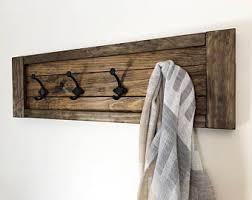 Unique Wall Coat Rack Rustic coat rack Etsy 44