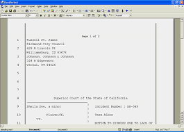 Pleadings Paper Creating And Publishing Pleadings With Wordperfect Knowledge Base