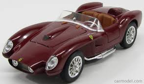 This isn't one of them, but a faithful replica of the original. Mb Sales 40026 Scale 1 18 Ferrari 250 Testarossa Spider 1958 Bordeaux