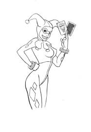 Quinn at colorings to and color, excellent harley quinn coloring 4534 12351600 simone pond. Coloring Pages Coloring Pages Harley Quinn Printable For Kids Adults Free