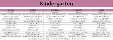 Sample Of Schedules Sample Schedules The Brunswick School