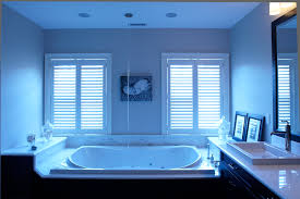 Whirlpool tub with tub filler from ceiling. - Puleo Plumbing & Heating