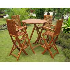 Small Outdoor Table Set Outdoor High Top Bistro Table Set Hampshire Bistro Set Tall Patio