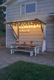 summer splendor awning style canopy diy project