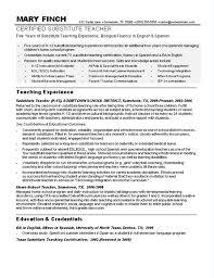 [ Sample Teacher Resumes Substitute Resume Job Duties With Regard Examples  ] - Best Free Home Design Idea & Inspiration